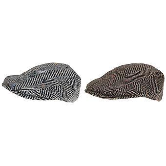 Hawkins Mens Woolly Flat Cap
