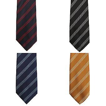 Premier Tie - Mens quatro listra trabalho gravata