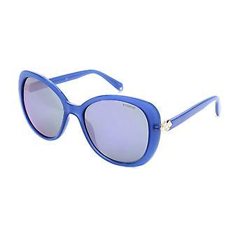 Polaroid frauen's polarisierte Sonnenbrille blau pld4063sx