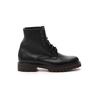 Church's Etc1589af0f0aab Men's Black Leather Ankle Boots