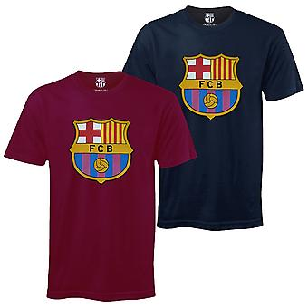 FC Barcelona Official Football Gift Lasten Crest T-paita