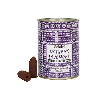 Gothic Homeware Goloka Lavender Backflow Incense Cones