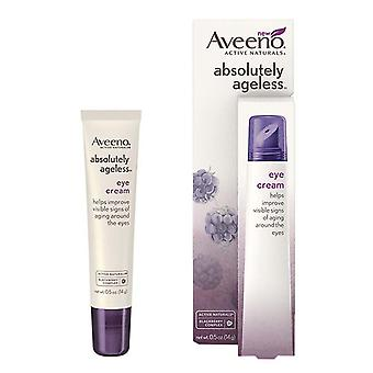 Aveeno active naturals absolutely ageless eye cream, blackberry, 0.5 oz