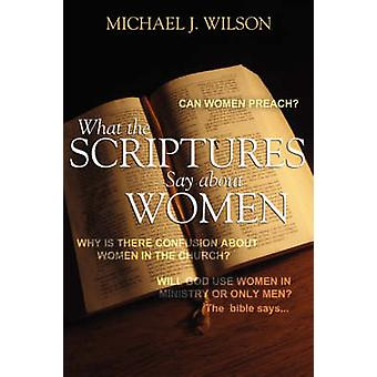 What the Scripture Says about Women by Wilson & Michael J.