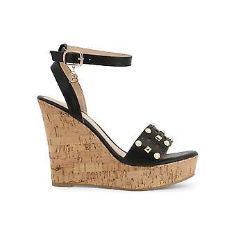 Laura Biagiotti - Zapatos - Bombas de cuña - 6051_CALF_BLACK - Damas - Schwartz - EU 41