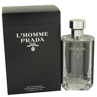 L'homme Prada By Prada EDT Spray 100ml