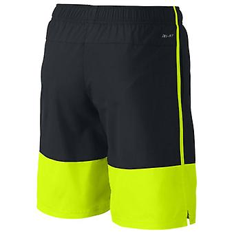 Sport Shorts for Kids Nike AS NIKE YA DISTANCE SHORT YTH Black Yellow/S