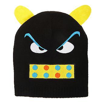 صغار/أطفال الوحش تصميم قبعة قبعة صغيرة في فصل الشتاء
