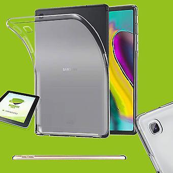 עבור סמסונג גלקסי Tab S6 Lite P610 P615 מקרה שקוף כיסוי מארז בנרתיק + HD LCD רדיד