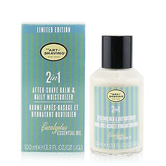 2 In 1 After-shave Balm & Daily Moisturizer - Eucalyptus Essential Oil - 100ml/3.3oz