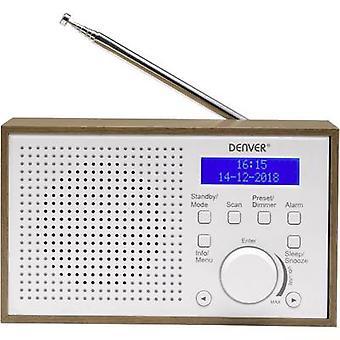 Denver DAB-46 Desk radio DAB+, FM White