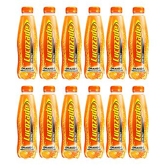 12 x 500ml Lucozade Sport Orange Energy Drink Koolhydraten vitamine gezonde hydratatie