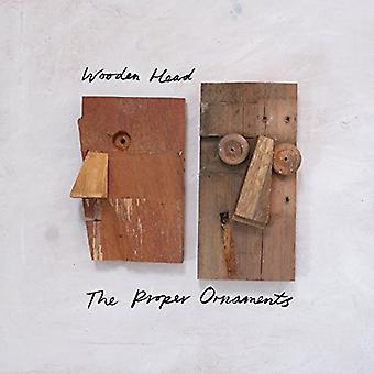 Proper Ornaments - Wooden Head [CD] USA import