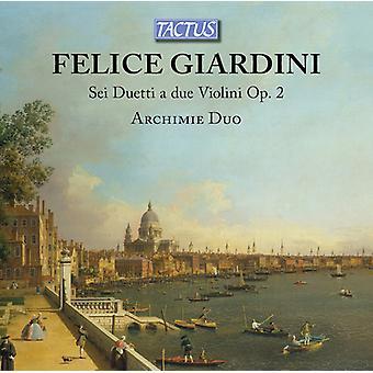 Sei Duetti A Due Violini [CD] USA import