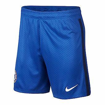 2020-2021 Chelsea Home Nike Football Shorts (Blue)
