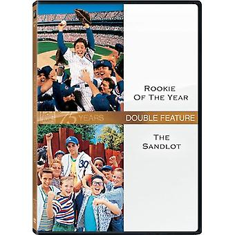 Rookie of the Year/Sandlot [DVD] USA import