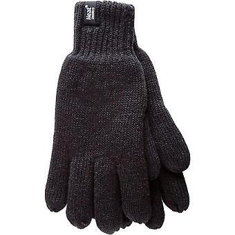 Heat Holders Men's Thermal Gloves Black