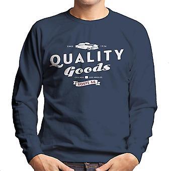Route 66 kvalitet varor mäns Sweatshirt