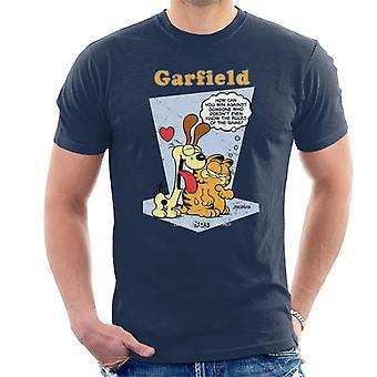 Garfield & Odie Lick Classic 80s Men's T-Shirt