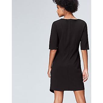 find. Women's Drape Hem_AN5414, Black (Schwarz), EU XS (US 0-2)