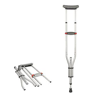 Cane Armpit Walking Stick - Elderly Non-slip Crutches Disabled Recuperator With Height Adjustable