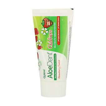 Aloe Vera Fluoride Free Toothpaste (Strawberry) 50 ml of gel (Strawberry)