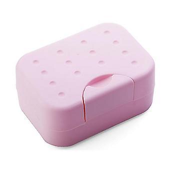Soap Dish Non-slip Box Case - Bath Shower Soap Holder Dish Hiking Container Soap Box
