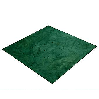 BRESSER Flatlay Baggrund til æglæggende billeder 60x60cm abstrakt mørkegrøn