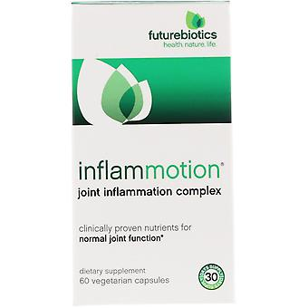 FutureBiotics, InflamMotion, Joint Inflammation Complex, 60 Vegetarian Capsules