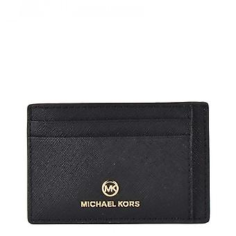 MICHAEL Michael Kors Jet Set Charm Card Case Black