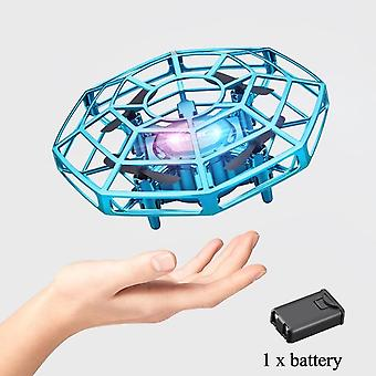 Mini Drone UFO Infrared Sensing Control Hand Flying Aircraft Kid Toy