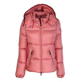 Moncler 1a58600c0229544 Women's Pink Nylon Down Jacket