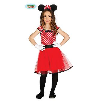Guirca cute cartoon mouse - costume for girls Carnival