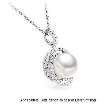 Luna-Pearls - Anhänger Brillant - Weißgold 750/- Südsee-ZP 10-11 mm 2040552