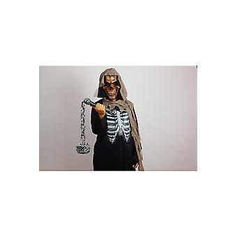 Halloween og horror Skull wapen mødte ketting