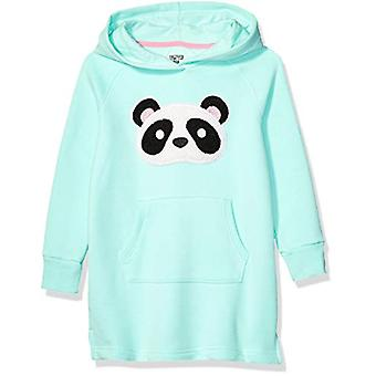 Brand - Spotted Zebra Girls' Little Kid Fleece Long-Sleeve Hooded Dres...