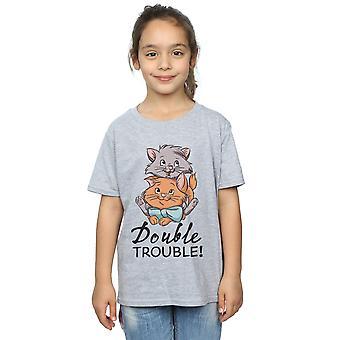 Disney Girls The Aristocats Double Trouble T-paita