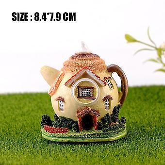 Mini Lighthouse, Water, Well Bridge, Figurines, Miniature, Craft Fairy Garden
