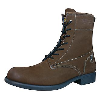 G-Star Voyage II Harkness Womens couro botas - meados Brown