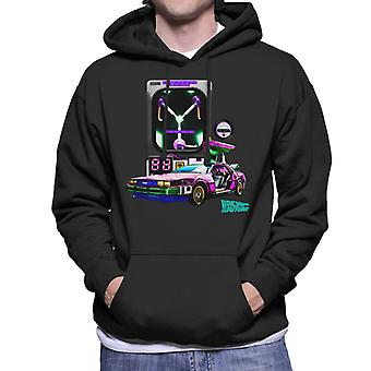 Back to the Future DMC Capacitor Men's Hooded Sweatshirt