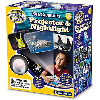 Brainstorm Toys Sea Creatures Projector and Nightlight