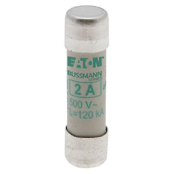 Bussman C10M2 2A AM 500Vac 10x38mm Cylindrical Fuse