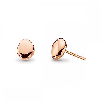 Kit Heath Coast Tumble Rosa Chapa de Oro Stud Pendientes 40VPRG014