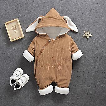 Baby Rompers Overalls Winter Boy Girl Garment Thicken Warm Pure Cotton Outerwear Coat Jacket