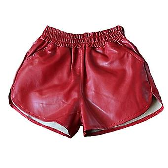 Summer Fake Leather Baby And Shorts