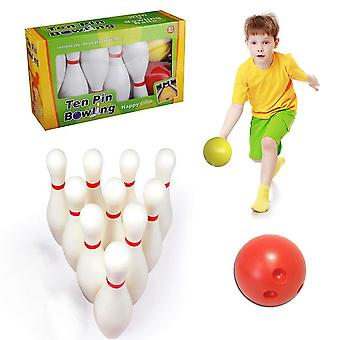 Kid's Bowling Set With Storage Box