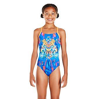سبيدو الفتيات دريمسكيب فيوجن التنسيب قطعة واحدة ملابس السباحة
