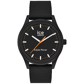 Ice Solar Watch naisille Analoginen kvartsi silikonirannekkeella IC018392