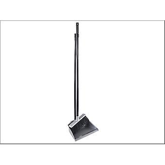 Elliott Long Handled Dustpan + Brush Set Silver 10F00131