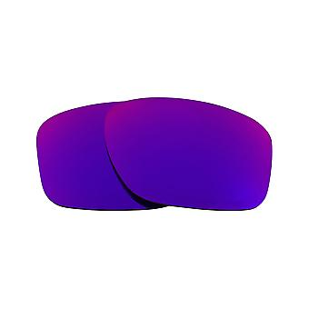 Replacement Lenses for Oakley Sliver Sunglasses Anti-Scratch Purple Mirror